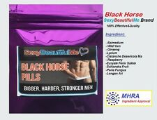 6BLACK HORSE SEX SUPPLIEMENT-STRONG SEX PILL-HARDER,THICKER&LONG LASTING FOR MEN