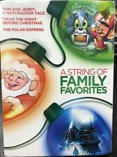 A String of Family Favorites: Polar Express Tom & Jerry NEW 3 DVD Set Sealed