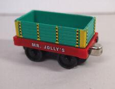 RARE 2002 Mr Jolly's Chocolate Car Thomas & Friends Take N Play Diecast Train