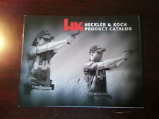 Heckler & Koch HK Product Catalog Booklet / Dated 7/11/2013 / 15 Pages