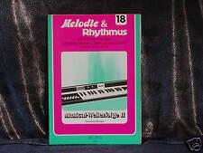 Keyboard-Blacklist -- sikorski -- mélodie & rythme -- musical-welterfolge II