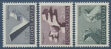 YOUGOSLAVIE 1974 n°1426/1428** Art, Sculpture , Yugoslavia set MNH
