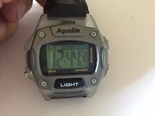 Man new aqualite ClearCase watch new battery