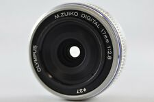 [Near Mint] OLYMPUS M.ZUIKO Digital 17mm F/2.8 Silver Lens For Micro 4/3