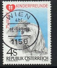 AUSTRIA SG1956 1983 CHILDRENS FRIENDS ORGANIZATION FINE USED