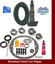 "Richmond Excel GM 8.5"" 4.56 Ring & Pinion Gear Set + Master Install Kit  2000-08"