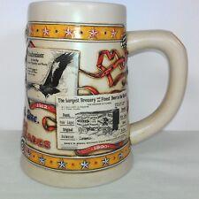 Budweiser Anheuser Busch Advertising Through The Decades Stein First 1st Series
