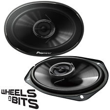 "Pioneer TS-G6932i 6x9"" Inch 300 Watts 3 Way Coaxial Car Door Shelf Speakers 90DB"