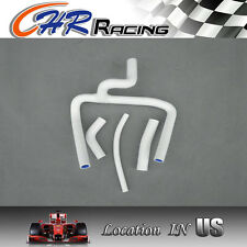FOR Honda CR250 CR250R silicone radiator HOSE 02-08 2003 2004 2005 2006 07 WHITE