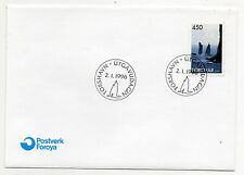 FAROE ISLANDS = 1996 Risin & Kellingin, SG285 set/1 on unaddressed FDC.