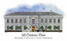 Beverly Hillbillies Mansion art print #6 signed by artist