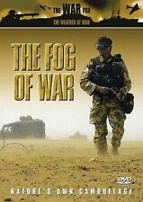 THE FOG OF WAR - NATURE'S OWN CAMOUFLAGE DVD - FREE POST IN UK