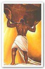 AFRICAN AMERICAN ART PRINT Power Of Man Kevin Williams WAK 10x16
