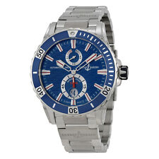 Ulysse Nardin Maxi Marine Diver Blue Dial Stainless Steel Mens Watch