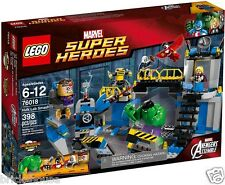 Brand New Sealed Lego SuperHeroes 76018 Avengers: Hulk Lab Smash (Bricks House)