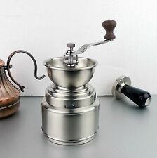 Cafe Home Barista Coffee Beans Stainless Steel Ceramic Burr Travel Grinder Mill