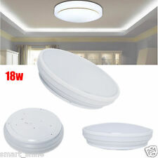 Bright Daylight White 18W LED Flush Mount Ceiling Light Downlight Bathroom  Lamp