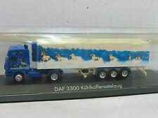 HERPA DAF 3300 KÜHLKOFFER-SATTELZUG   / X1984