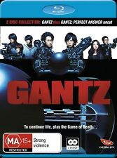 Gantz Movie : Collection 1-2 (Blu-ray 2 Disc Set, 2013) Region B