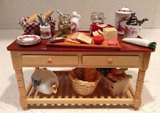 Dollhouse Miniature Appetizers Kitchen Table Reutter Porcelain 1:12 Crudités