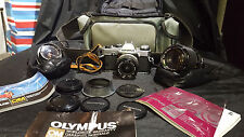 *OLYMPUS OM20 35mm Camera Kit with extra lenses & bag :)