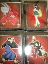 InuYasha TCG New 4 Shimei Tins with Promo Cards Booster