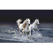 Galloping Horses DIY Diamond Painting Mosaic Kit Picture