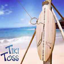 Tiki Toss Hook and Ring Game - surfboard surf decor decoration design furnishing