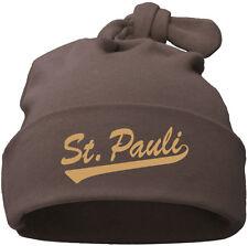 ST. PAULI Babymütze Einzelknoten chocolate