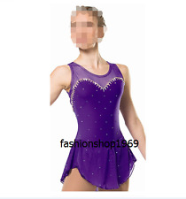 Ice Figure Skating Dress  Figure skaitng Dress customized Competition xx7