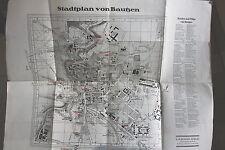7917 Stadtplan von Bautzen um 1910 mit Straßen Verzeichnis