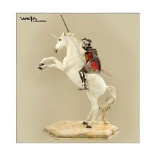Weta: NARNIA: PETER ON UNICORN statue - RARE (Sideshow/lotr/sauron/book)