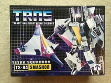 TRANSFORMERS TS-04 Tetra Squadron custom g1 Ramjet SMASHOR Impossible Toys