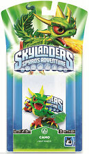 Skylanders Spyro's Adventure CAMO Single Character Figure Pack DAMAGED PACKAGING
