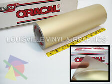 "12"" X 4ft - Oracal 8510 Gold - Fine Etched Glass Craft & Hobby Cutting Vinyl"