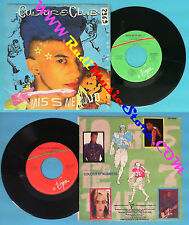 LP 45 7'' CULTURE CLUB Miss me blind Colour by numbers BOY GEORGE no cd mc dvd