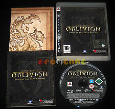 OBLIVION GAME OF THE YEAR EDITION Ps3 Vers. Italiana GOTY 1ª Ediz ••••• COMPLETO