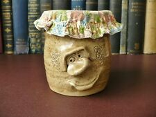 Welsh Pottery Pretty Ugly Mug Preserve Jar