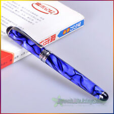jinhao x750 blue and black roller ball pen new free shipping