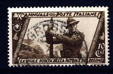 ITALIA - Regno - 1932 - Decennale della Marcia su Roma - 10 c. - La milizia volo