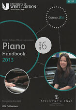 LCM London College Of Music Grade 6 Piano Handbook 2013 to 2017  Exam Book LL257
