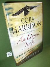CORA HARRISON AN UNJUST JUDGE FIRST UK EDITION HARDBACK NEW AND UNREAD