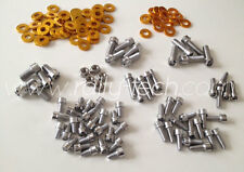 SUBARU IMPREZA DELUXE STAINLESS STEEL ENGINE DRESS UP BOLT KIT GC8 WRX STI P1