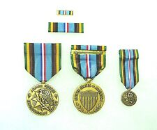Agency, Department of Defense Armed Forces Expeditionary Medal, set of 4