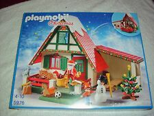 PLAYMOBIL 5976 SANTA'S LODGE WITH ACCESSORIES BRAND NEW