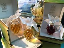 *L'AIR DU TEMPS by  NINA RICCI* (2)1 FL OZ &(1)1/2 OZ  VINTAGE SEALED EXTRAITS*