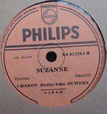 John Ouwerx Philips AA-852701 Charon Justin Swahili Suzanne Chemise Arret 78rpm