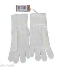 Diesel Womens Cream Soft Knitted Mohair Mix One Size Gloves  RRP £25  Free Ship