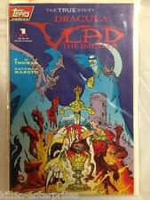 Dracula - Vlad the Impaler #1 Comic Book Topps 1992 - Polybagged