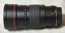 Canon EF 200mm f/2.8L Prime Lens with UV Filter